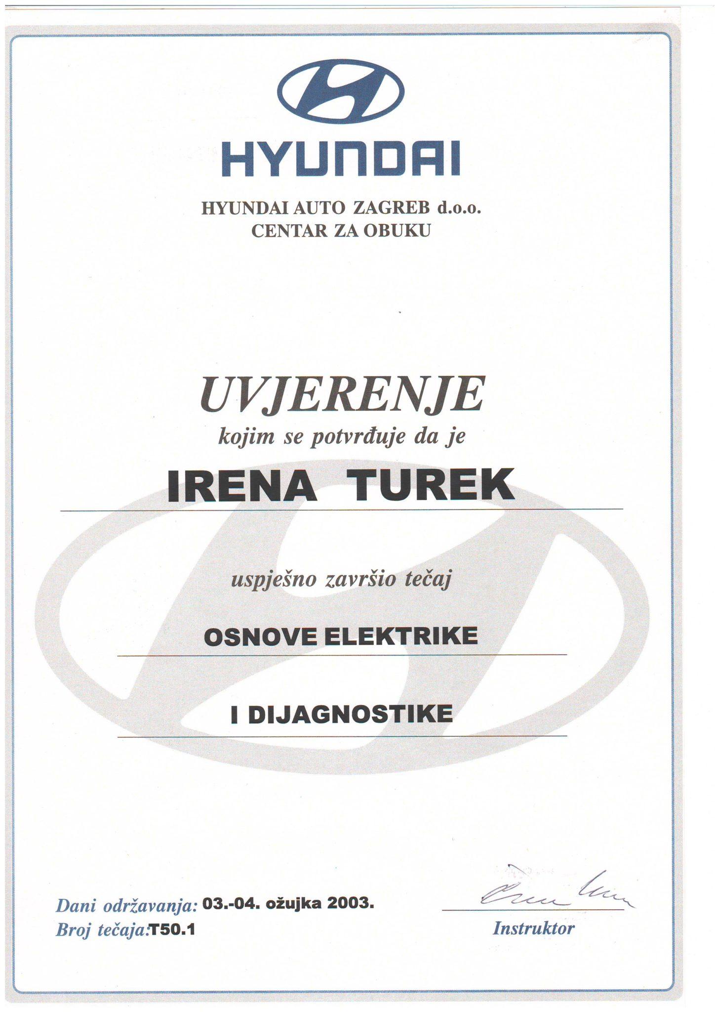Picture of Hyundai - Osnove elektrike i dijagnostike