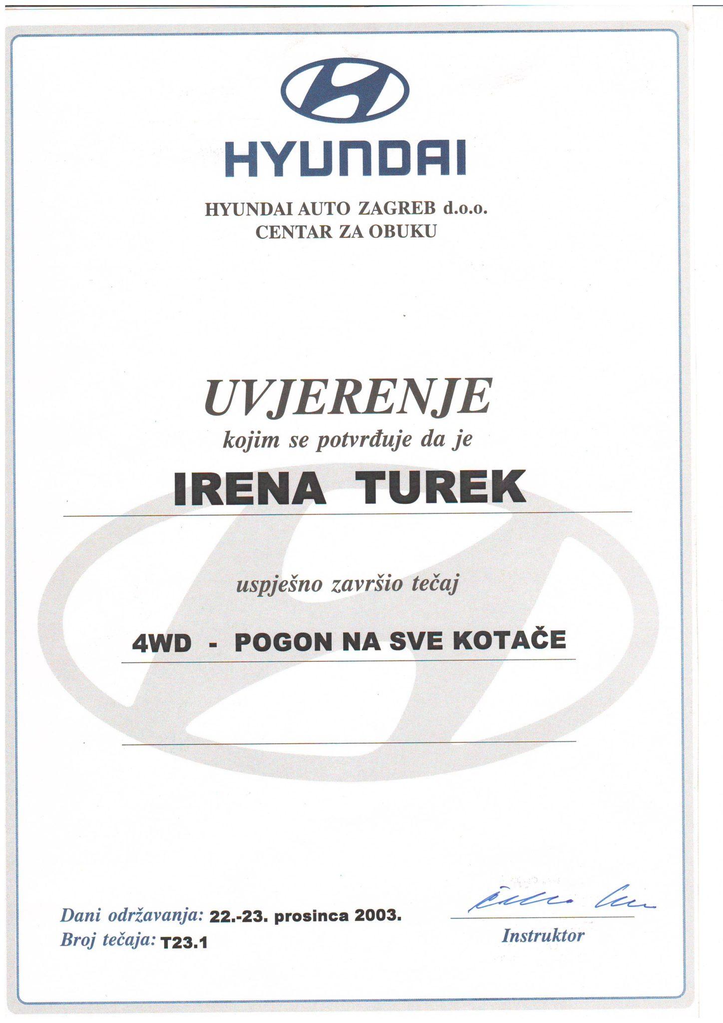 Picture of Hyundai - 4WD pogon na sve kotače