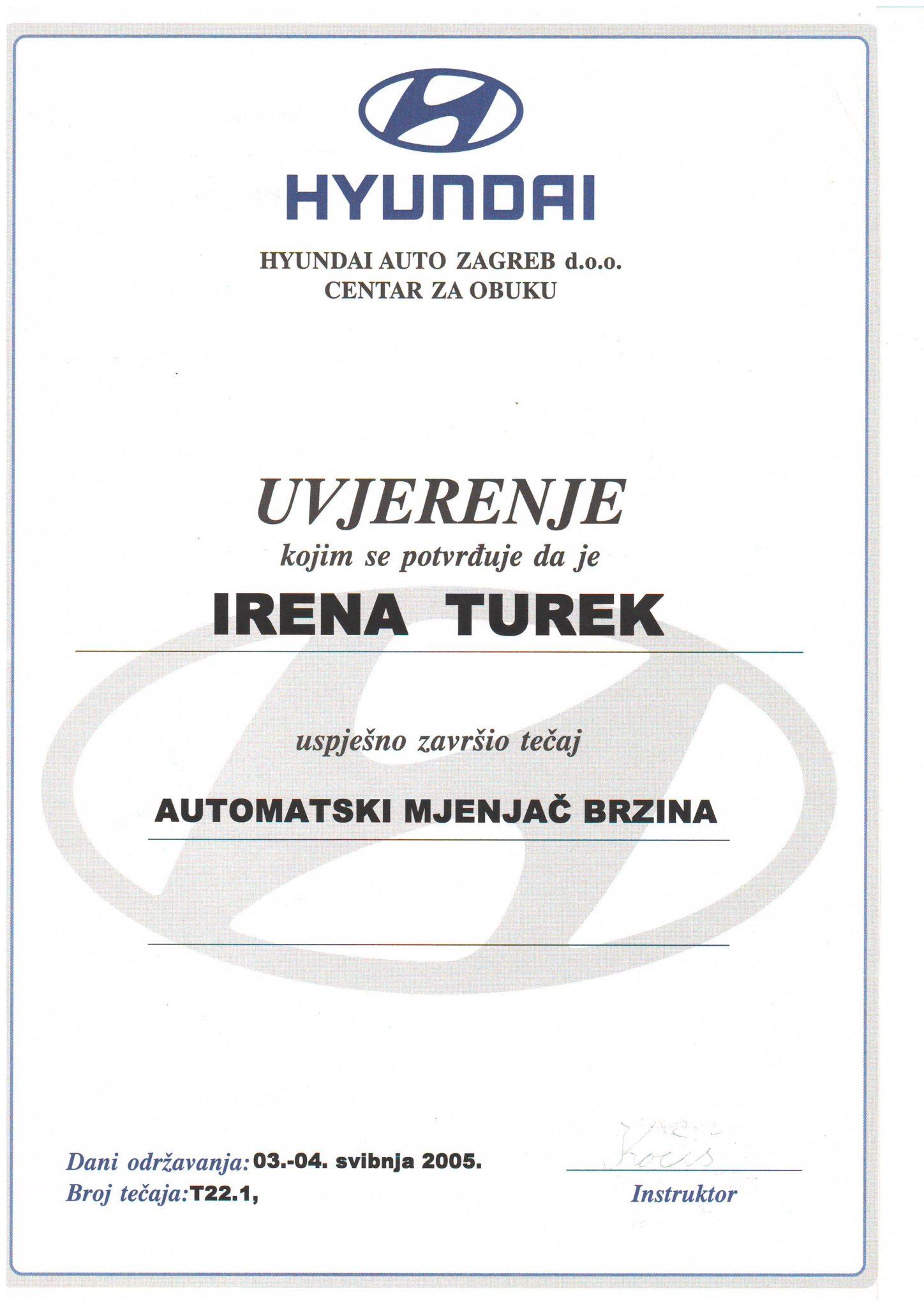 Picture of Hyundai - Automatski mjenjač brzina