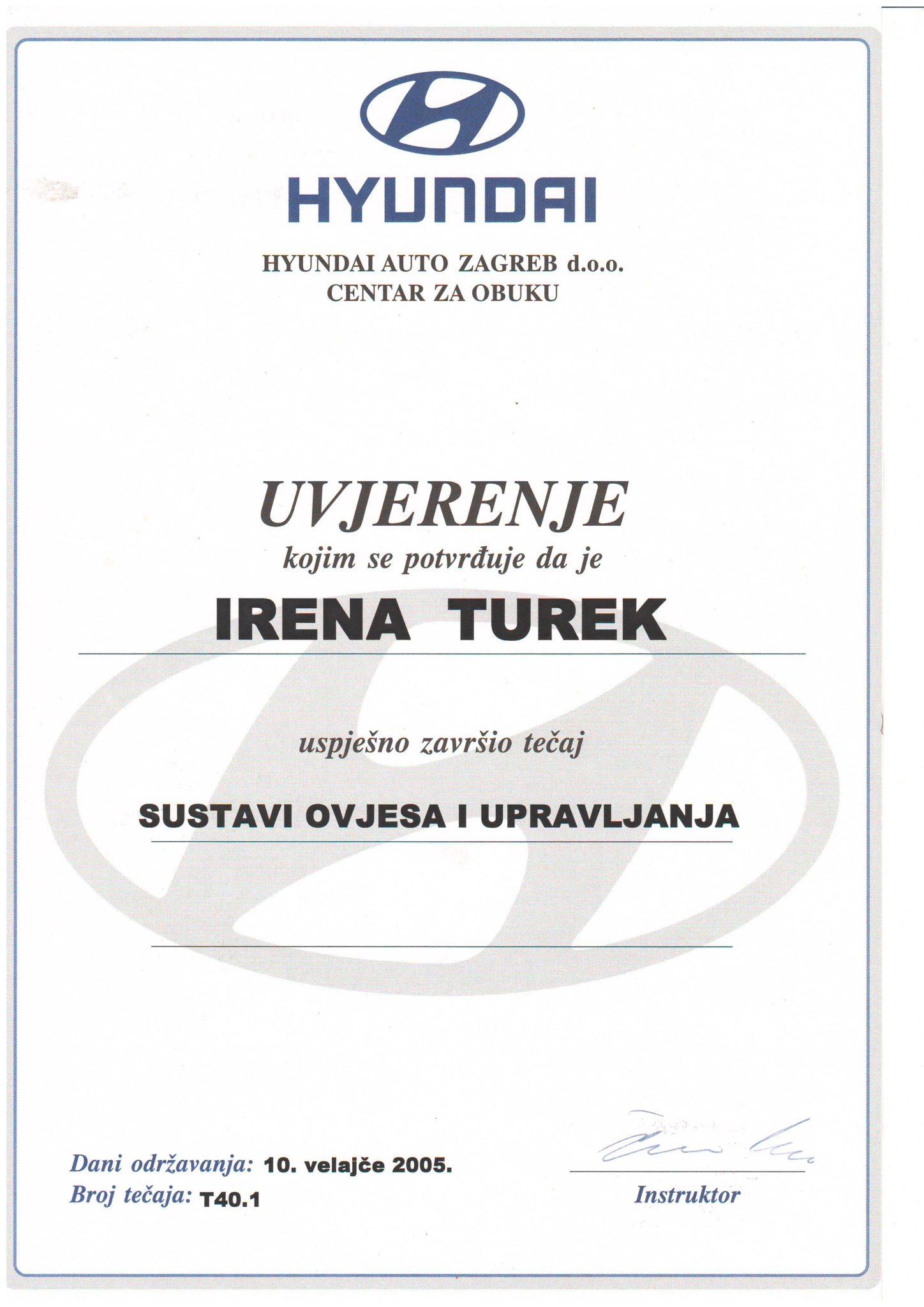 Picture of Hyundai - sustavi ovjesa i upravljanja