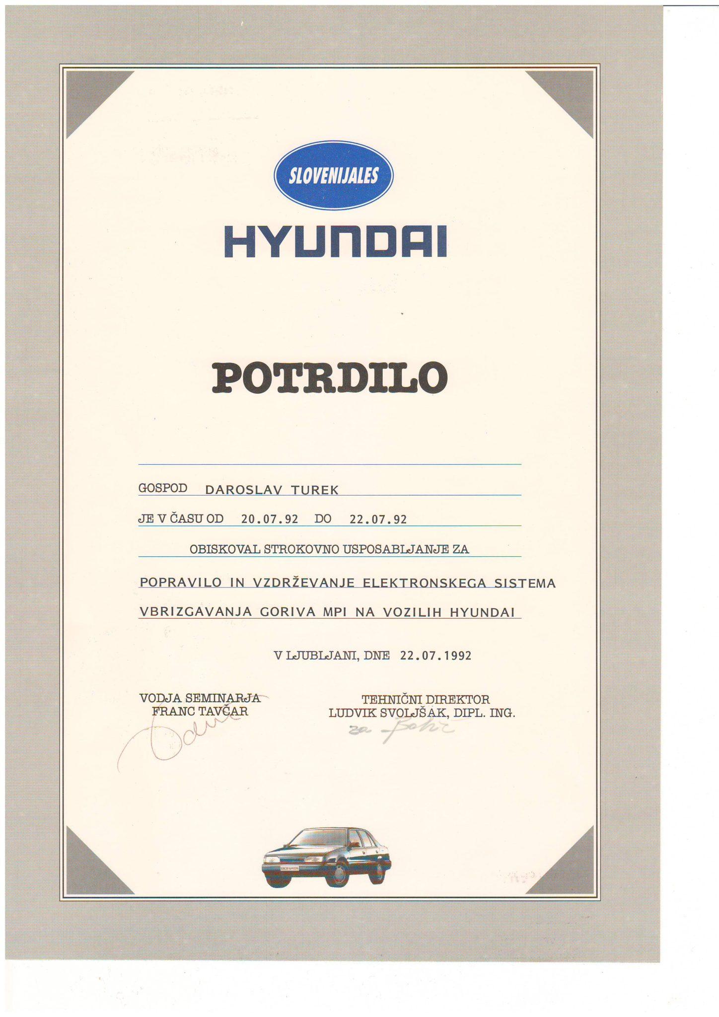 Picture of Hyundai - Elektronski sistem ubrizgavanja