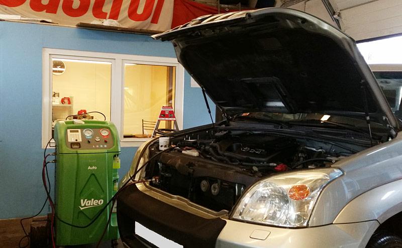 Servis klime za japanska i korejska vozila