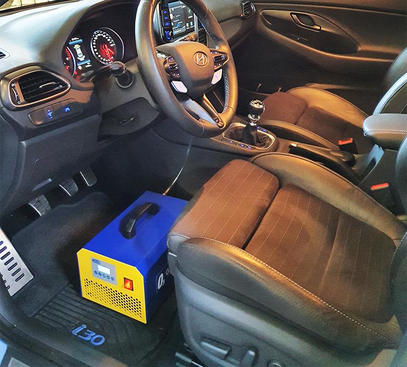 COVID19 dezinfekcija kabine vozila ozonom
